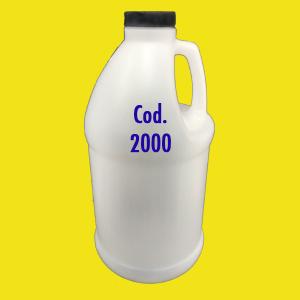 Frasco cilíndrico 2000ml com tampa 30 – cód. 2000
